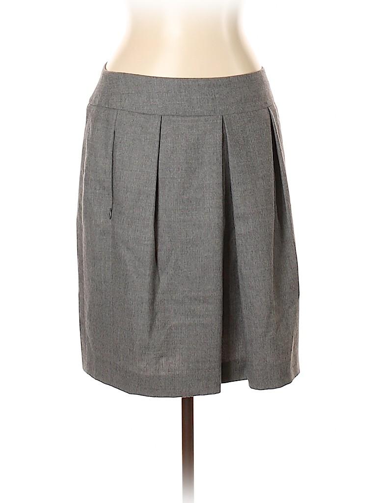 Akris Punto Women Wool Skirt Size 10