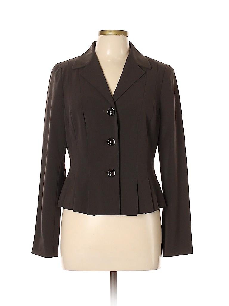 Worth New York Women Wool Blazer Size 10