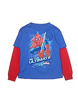 Marvel Long Sleeve T-Shirt Size 7