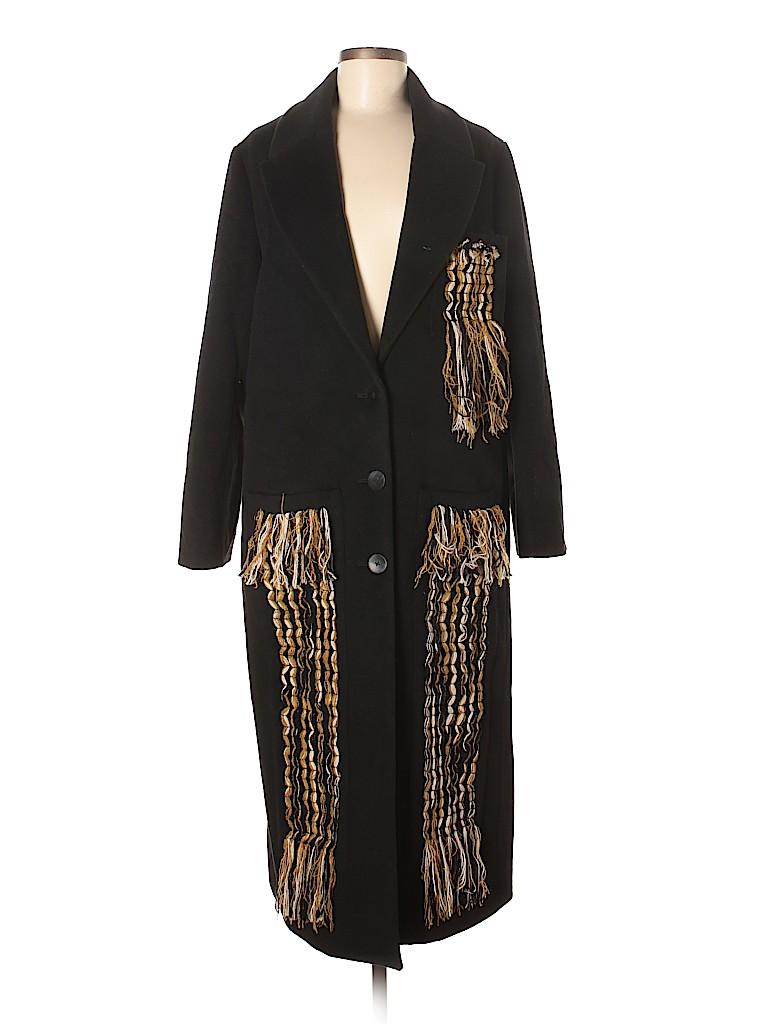 Edun Women Wool Coat Size 8