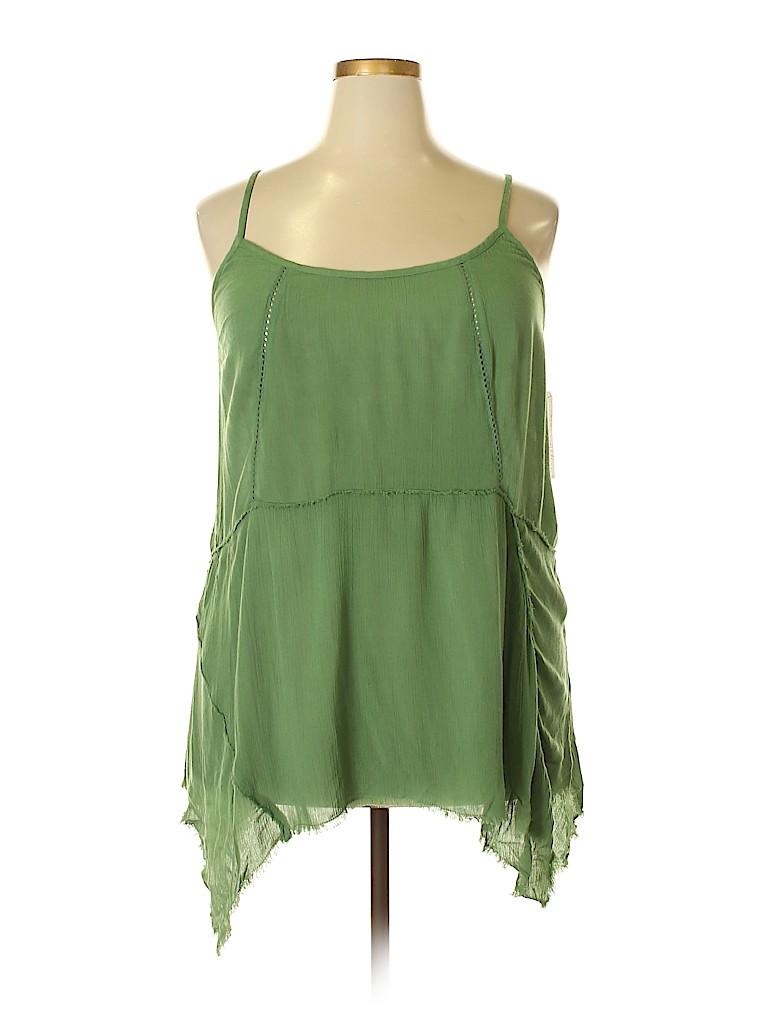 Melrose and Market Women Sleeveless Top Size 1X (Plus)
