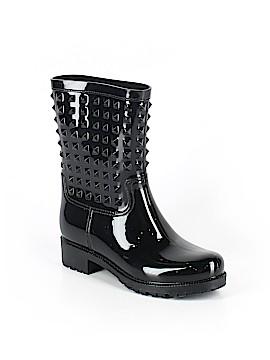Betseyville By Betsey Johnson Rain Boots Size 39 (EU)