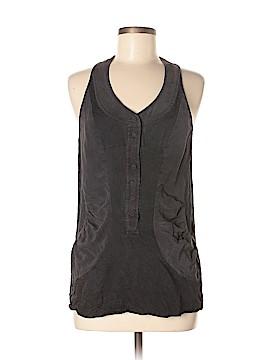 Balenciaga Sleeveless Silk Top Size 38 (EU)