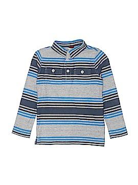Tea Long Sleeve Polo Size 6 - 7