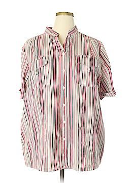 Maggie Barnes Short Sleeve Blouse Size 22 - 24 (Plus)