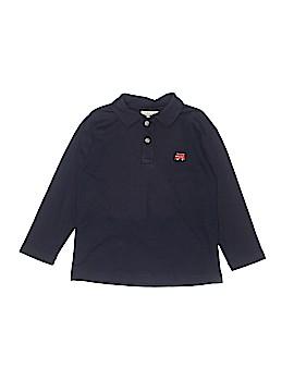 Luigi Kids Long Sleeve Polo Size 4