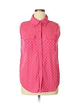 Peck & Peck Short Sleeve Button-Down Shirt Size XL