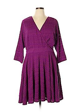 Plenty By Tracy Reese Casual Dress Size 1X (Plus)
