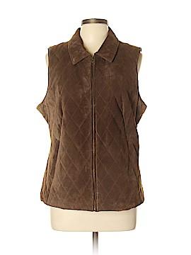 Orvis Leather Jacket Size L