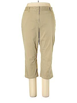 Jaclyn Smith Khakis Size 18 (Plus)
