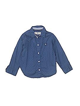 H&M L.O.G.G. Long Sleeve Button-Down Shirt Size 3