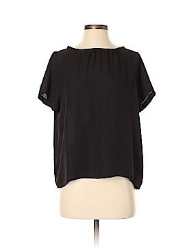 A.P.C. Short Sleeve Silk Top Size S