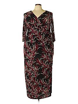 24/7 Comfort Apparel Casual Dress Size 1X (Plus)