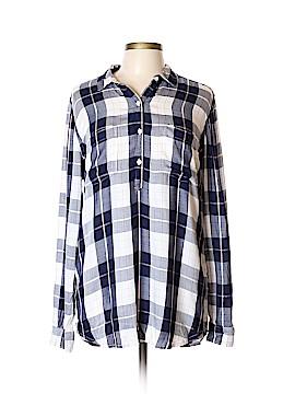 Kohl's Long Sleeve Button-Down Shirt Size L