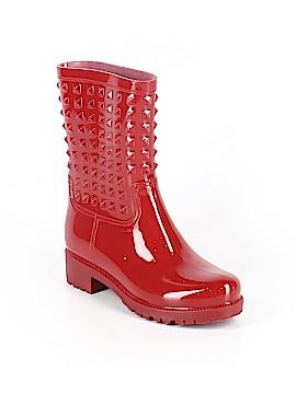 Betseyville By Betsey Johnson Rain Boots Size 8