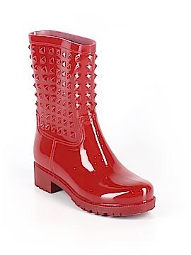 Betseyville By Betsey Johnson Rain Boots Size 11