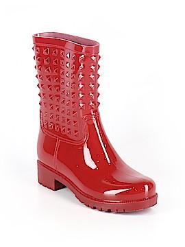 Betseyville By Betsey Johnson Rain Boots Size 10
