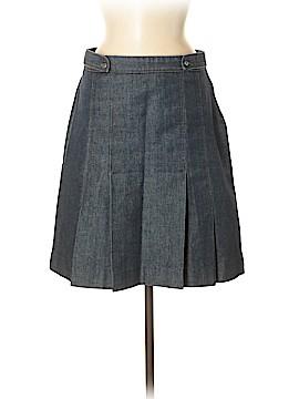 Zara Basic Denim Skirt Size 8