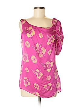 Leifsdottir Short Sleeve Silk Top Size S