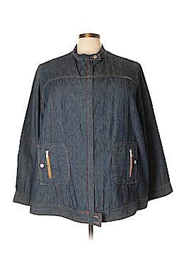 Ulla Popken Denim Jacket Size 28 - 30 (Plus)