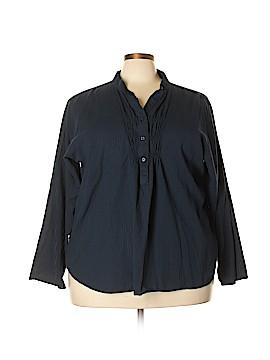 Northcrest Long Sleeve Blouse Size 4X (Plus)