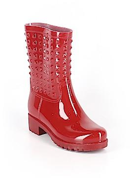 Betseyville By Betsey Johnson Rain Boots Size 7