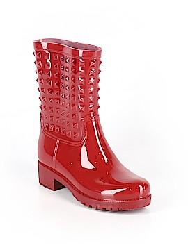Betseyville By Betsey Johnson Rain Boots Size 6