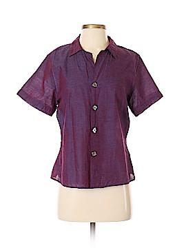 CP Shades Short Sleeve Button-Down Shirt Size S