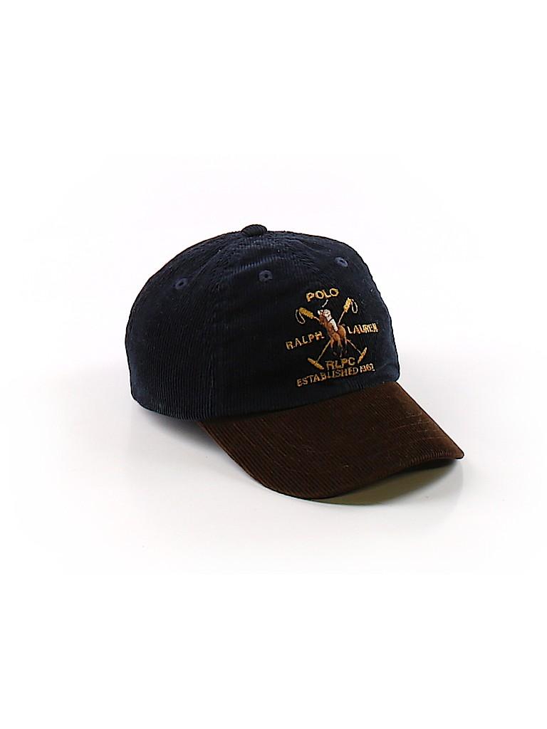 b0031340293 Polo by Ralph Lauren Graphic Dark Blue Baseball Cap One Size ...