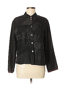 Chico's Silk Blazer Size Med (1)