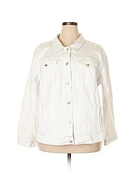 Ann Taylor LOFT Denim Jacket Size 22 (Plus)