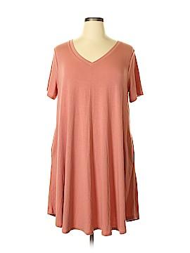 Zenana Outfitters Casual Dress Size 2X (Plus)