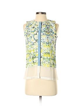 Plains & Prints Sleeveless Button-Down Shirt Size 4