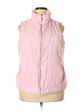 Jane Ashley Vest Size 1X (Plus)