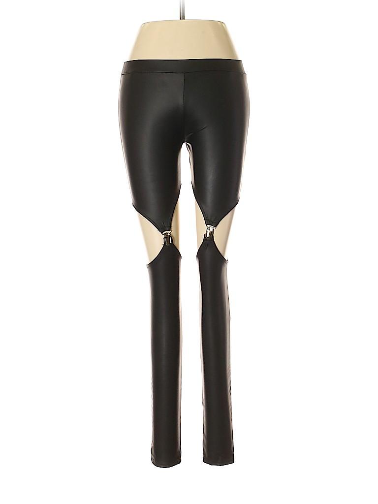 TOBI Women Faux Leather Pants Size S