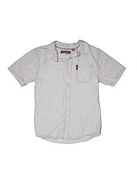 Ben Sherman Short Sleeve Button-Down Shirt Size 18