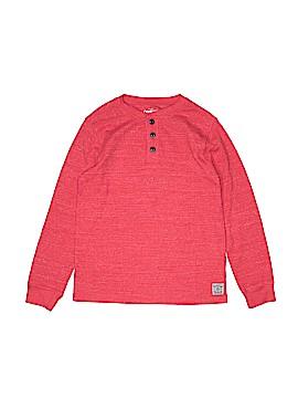 OshKosh B'gosh Long Sleeve Henley Size 10