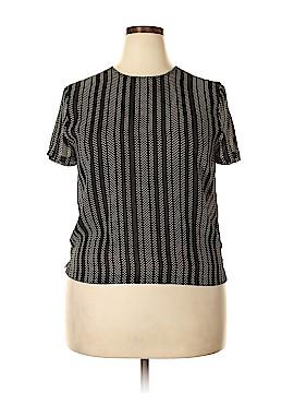 Josephine Chaus Short Sleeve Blouse Size 16