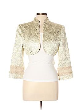 Badgley Mischka Silk Blazer Size 10