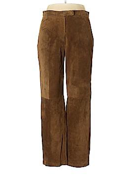 Brandon Thomas Leather Pants Size 14