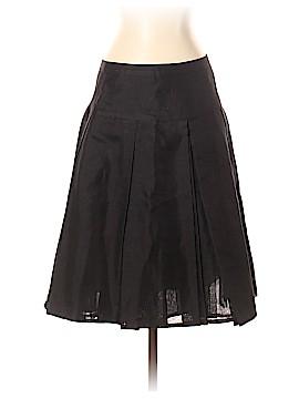 Rene Lezard Silk Skirt Size 38 (FR)