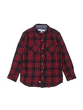 Pd&c Long Sleeve Button-Down Shirt Size 8