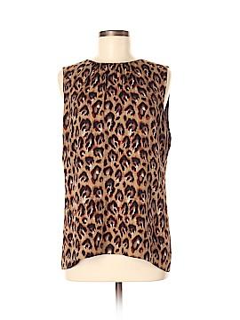 Tory Burch Sleeveless Silk Top Size 12