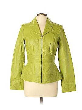 Shape FX Leather Jacket Size 10