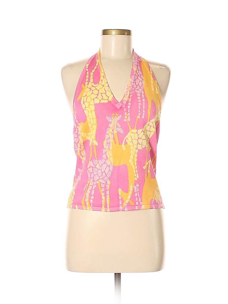 Lilly Pulitzer Women Sleeveless Silk Top Size M