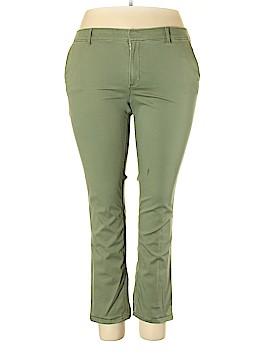 Ann Taylor LOFT Khakis Size 18 (Plus)