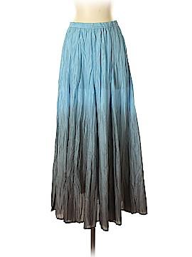 Garnet Hill Silk Skirt Size XS