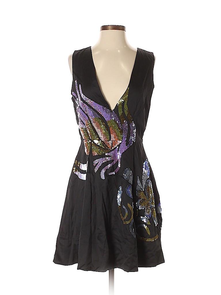 Cynthia Rowley Women Casual Dress Size S