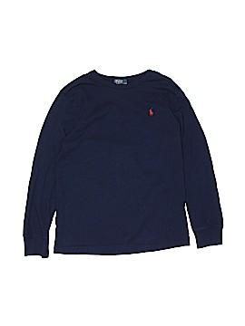 Polo by Ralph Lauren Long Sleeve T-Shirt Size 10 - 12