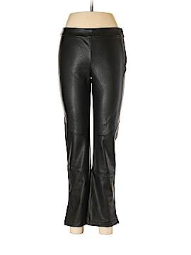 David Lerner Faux Leather Pants Size M